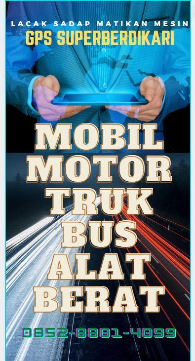 GPS Trackercilacap mobil motor truk bus